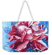 Rose Weekender Tote Bag by Zaira Dzhaubaeva