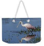 Roseate Spoonbill Hunting Weekender Tote Bag