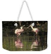 Roseate Spoonbill Weekender Tote Bag