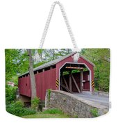 Rosehill Covered Bridge Weekender Tote Bag