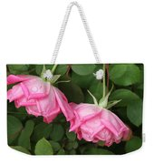 Roses After The Shower Weekender Tote Bag