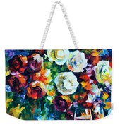 Roses And  Weekender Tote Bag