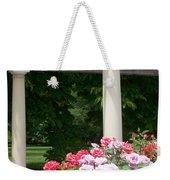 Roses And Pergola Weekender Tote Bag