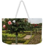 Roses And Salad - Chateau Villandry Weekender Tote Bag