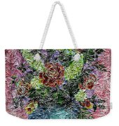 Roses And White Lilacs Digital Painting Weekender Tote Bag