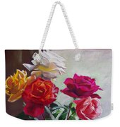 Roses By The Window Weekender Tote Bag
