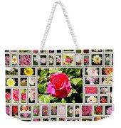 Roses Collage 2 - Painted Weekender Tote Bag