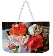 Roses Florentine Weekender Tote Bag