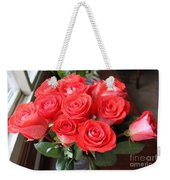 Roses For Mother Weekender Tote Bag