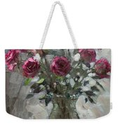 Roses For Viola Weekender Tote Bag