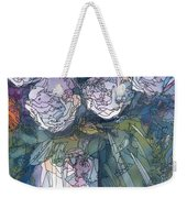 Roses In A Vase Weekender Tote Bag