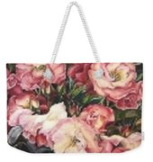 Roses In A Watercan Weekender Tote Bag