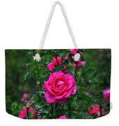 Roses In The Garden Weekender Tote Bag