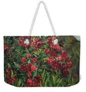 Roses In The Mountains Weekender Tote Bag