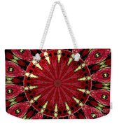 Roses Kaleidoscope Under Glass 11 Weekender Tote Bag
