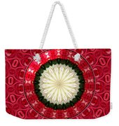 Roses Kaleidoscope Under Glass 19 Weekender Tote Bag