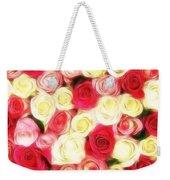 Roses Of Love Weekender Tote Bag