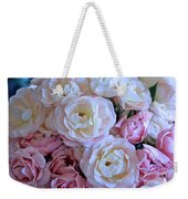 Roses On The Veranda Weekender Tote Bag