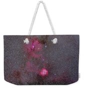 Rosette And Cone Nebula Area Weekender Tote Bag