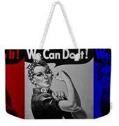 Rosie In American Colors Weekender Tote Bag
