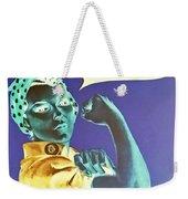 Rosie In Negative Weekender Tote Bag