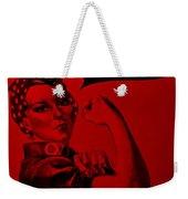 Rosie In Red Weekender Tote Bag