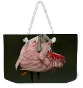 Rosiette Spoonbill Weekender Tote Bag
