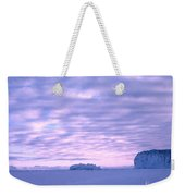 Ross-iceshelf-g.punt-2 Weekender Tote Bag