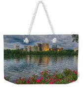 Rosslyn Virginia Sunset From Across The Potomac River Weekender Tote Bag