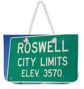 Roswell New Mexico Weekender Tote Bag