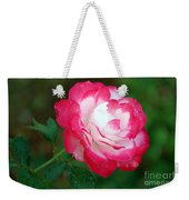 Rosy Reds And Whites Weekender Tote Bag