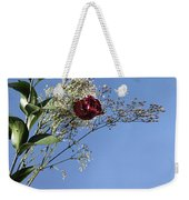Rosy Reflection - Left Side Weekender Tote Bag