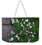Rosy Rock Weekender Tote Bag