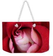 Rosy Rose Weekender Tote Bag