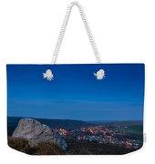Rothbury Town At Dusk Weekender Tote Bag