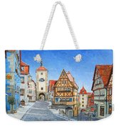 Rothenburg Germany Weekender Tote Bag