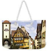 Rothenburg Marketplatz Weekender Tote Bag