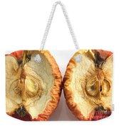 Rotten Apple Halves Weekender Tote Bag