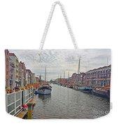 Rotterdam Canal Weekender Tote Bag