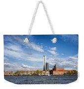 Rotterdam Skyline In Netherlands Weekender Tote Bag