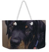 Rottweiler Dog Weekender Tote Bag