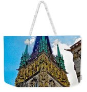 Rouen Church Steeple Weekender Tote Bag