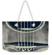 Rough Acoustic  Weekender Tote Bag