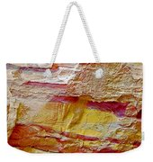 Rough And Red Rock In Petra-jordan  Weekender Tote Bag