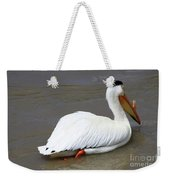 Rough Billed Pelican Weekender Tote Bag