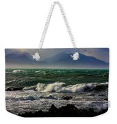 Rough Seas Kaikoura New Zealand Weekender Tote Bag