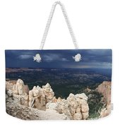 Rough Skys Over Bryce Canyon Weekender Tote Bag