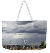 Rough Skys Over Colorado Plateau Weekender Tote Bag