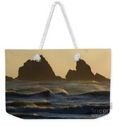 Rough Surf Weekender Tote Bag