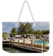 Roughing It In The Keys Weekender Tote Bag